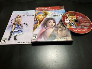 Final Fantasy X-2 (Sony PlayStation 2, 2003) CIB! W/ REGISTRATION! MINTY DISC!