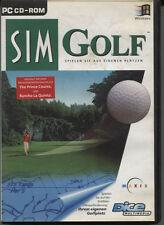Computer-CD-Rom - Spiel - Sim Golf