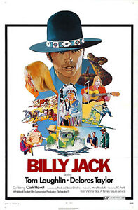 billy jack 1971 movie poster ebay