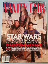 VANITY FAIR Magazine - 2/1999  Star Wars the Phantom Menace Liam Neeson Portman