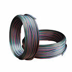 4 Pin Extension Wire Connector Cable Cord For RGB 3528 5050 LED Strip Light