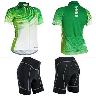 Women Cycle Jersey Cycling Clothing Bike Shorts Bicycle Wear Uniforms Gear S-XXL