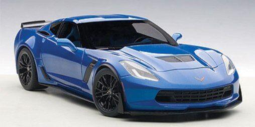 Chevrolet Corvette Z06 C7 Coupe 2014 bleu  Autoart 1 18 AA71265  garantie de crédit