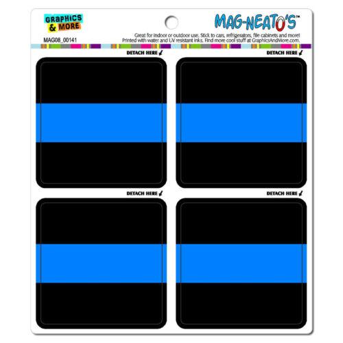 Thin Blue Line Police MAG-NEATO/'S™ Car Refrigerator Vinyl Magnet Set