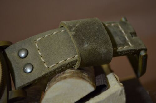 PANERAI UHRENARMBAND 26 24 22 MM RINDSLEDER SOFT MA STRAP F ETC NEW SAVAGE III