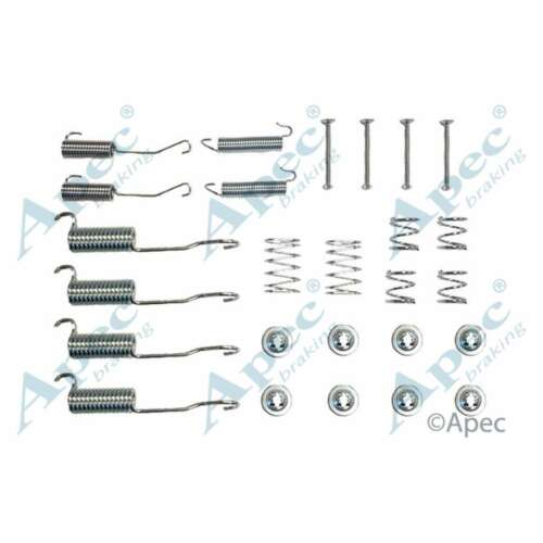 Fits LDV Convoy 2.4D Genuine OE Quality Apec Rear Brake Shoe Accessory Kit