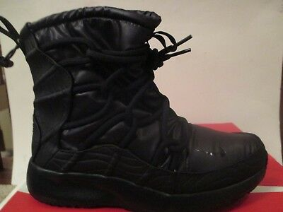 offer discounts limited sale search for newest NIKE TANJUN HIGH RISE BOOT (BLACK) WOMENS BOOTS | eBay