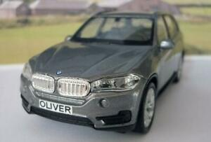 PERSONALISED-PLATE-BMW-X5-Diecast-Model-Boys-Dad-Toy-Car-Present-Boxed-2-colours
