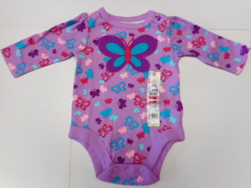 Creepers Butterflies Hugs Kisses Baby girls Clothes 4 Styles 0//3-12mos FREE