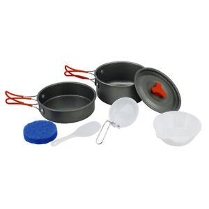 Portable-Outdoor-Cookware-Camping-Hiking-Picnic-Cooking-Bowl-Spoon-Pan-Pot-Set