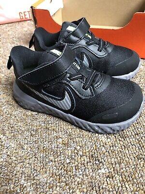 Nike Revolution 5 TDV Baby Boys Black
