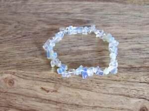 Multicolor Fluorite Tumbled Stone Charm Reiki Healing Natural Gemstone Bracelet