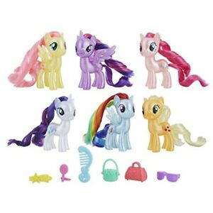 My Little Pony Mane 6 Celebration Set Toy 630509740758 Ebay