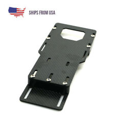 1//10 RC Car Axial SCX10 Hsp Redcat Carbon Fiber Battery Mounting Plate Tray