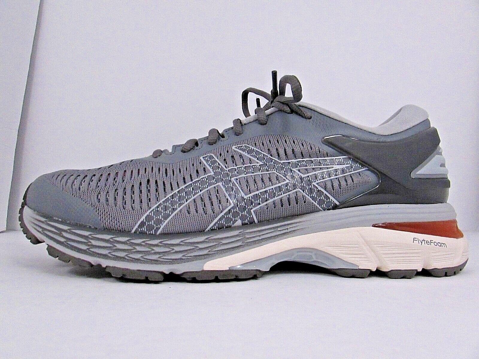 WOMEN'S ASICS GEL KAYANO 25 size 10 (D) WIDE  WORN AROUND 3 MILES  RUNNING