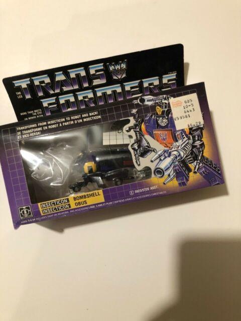 G1 Transformers Bombshell MIB