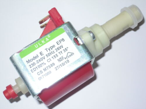 POMPA ULKA Model E Type EP8 230-240V 50HZ 26W  2,5bar *