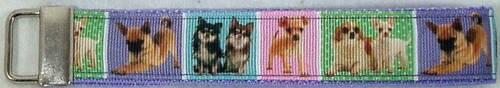 Cats Chihuahua Mastiff Retriever Shepherd Dachshund Spaniel Corgi Wrist Key Fob