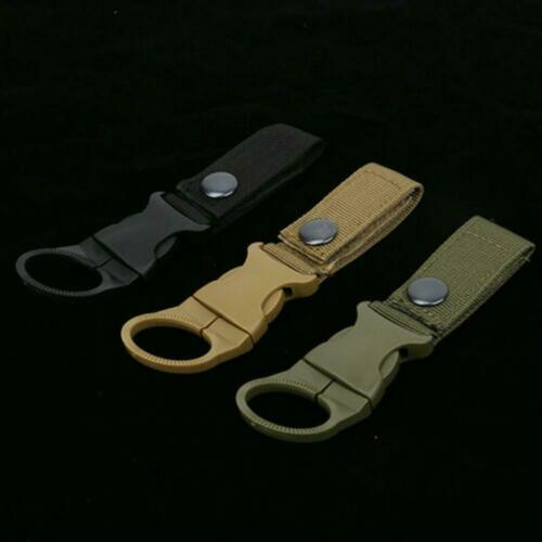 Outdoor Water Bottle Clip Camping Hiking Tactical Hanging Belt Buckle Holde Best