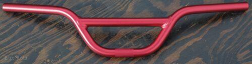 "Red Alloy4/"" BMX HANDLEBARS Vintage Prewar Schwinn MTB Cruiser Bike Fixie Bicycle"