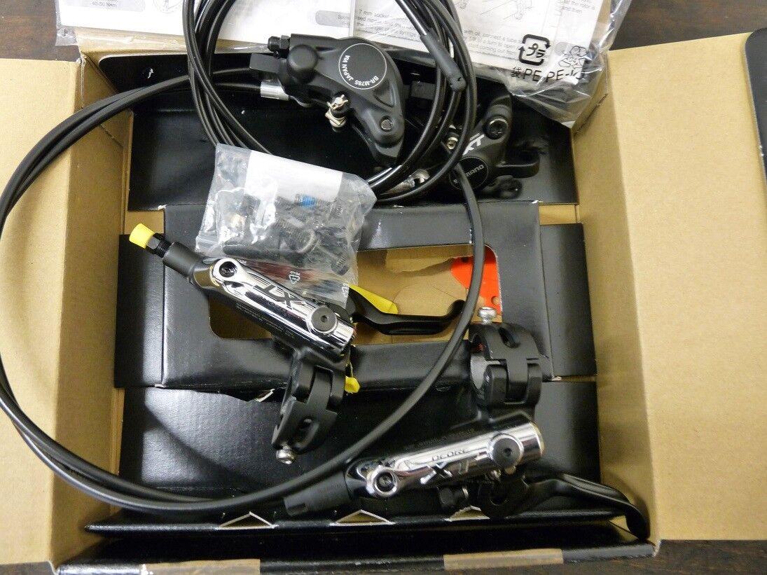 Nuevo conjunto de rojoura de Shimano XT BR-M785 Negro