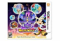 Disney Magical World 2 (Nintendo 3DS, 2016) Video Games