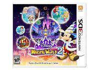 Disney Magical World 2 (Nintendo 3DS, 2016) Video Games