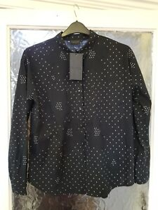 4b84b83bf Image is loading Gestuz-Lola-Womens-Designer-Shirt-Blouse-Size-EU-