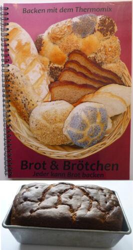1 Set Brot & Brötchen Ringbuch   Backform !! Ideal für Thermomix TM31 / TM5