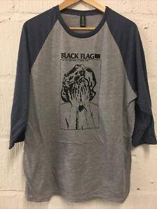Black Flag Baseball T-shirt Size L Never Worn Raymond Pettibon Punk