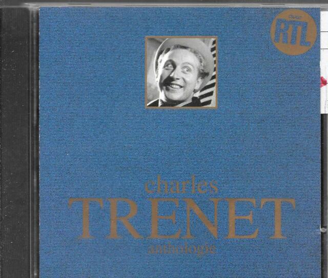 CD COMPIL 19 TITRES--CHARLES TRENET--ANTHOLOGIE...