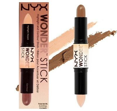 NYX WONDER STICK Highlight & Contour WS02 Medium/Tan ~ DELIGHTFUL BEAUTY
