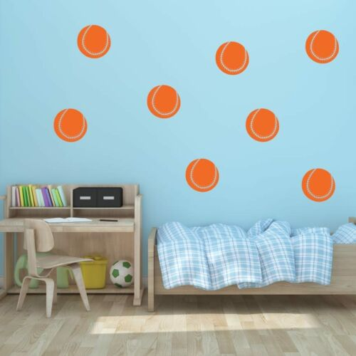 """Pick Color Sports Decal 5/"""" Softball Vinyl Wall Decals 4 Kid/'s Room"""