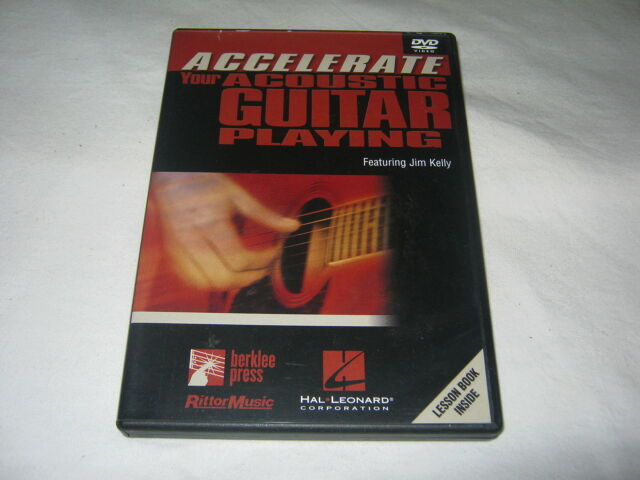 Accelerate your Acoustic Guitar Playing - Jim Kelly - Guitar Tutorial - DVD R1