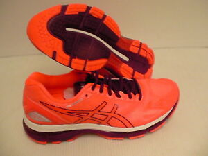 Coral Asics Womens Dark White Tamaño Gel 9 running 19 de Purple Flash Nimbus Zapatillas 8F8rqfw