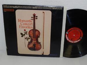 Details about VARIOUS: ROMANTIC CONCERT FAVORITES LP Columbia Special  Products CSS 346 album
