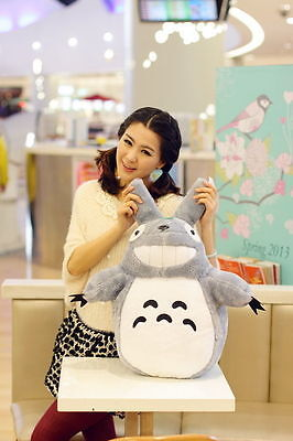 LARGE 35CM MY NEIGHBOR TOTORO PLUSH DOLL SOFT BEAR KID GIRL TOY GIFT COLLECTION