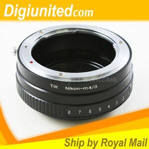Nikon-F-AI-lens-to-Olympus-Panasonic-Micro-4-3-M43-Tilt-adapter-E-PL3-P3-GF3-G3
