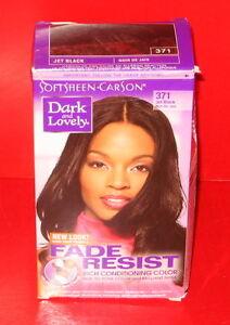 SoftSheen Carson Dark And Lovely Hair Color  371  Jet Black  EBay