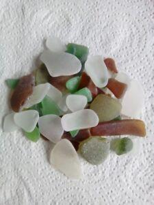 Candide Welsh Mer Verre Vrac 100 G 60 - 80 Pieces Mixte De Couleur Sea Glass-afficher Le Titre D'origine Prix De Vente Directe D'Usine