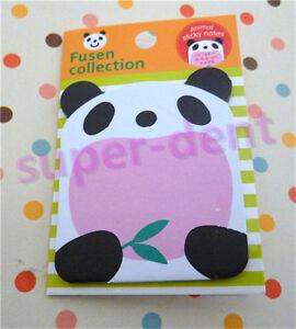Cute Animal Panda Sticker Bookmark Sticky Notes Point Marker Memo Post Tab Flag