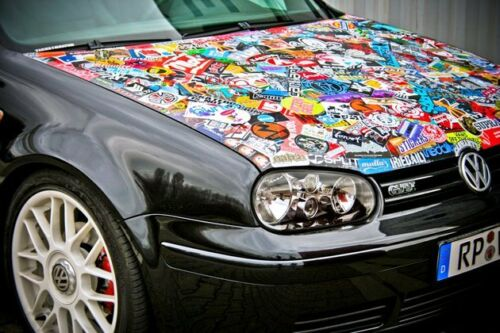 JDM StickerBomb 3Rising Sun Decals for Hot Wheels /& all scale Models to 1//18