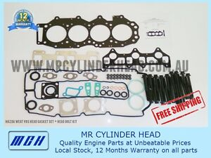 Ford-Ranger-PJ-PK-Mazda-BT-50-WE-VRS-Head-Gasket-Kit-Head-Bolt-Set-WEAT-WEC