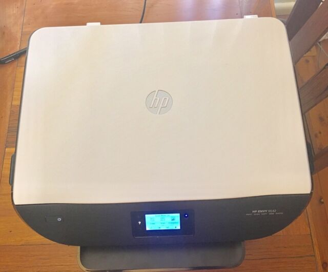 "HP Envy 5542 All-in-One Wireless Color Inkjet Printer+2.2"" Display+ePrint G0V47A"
