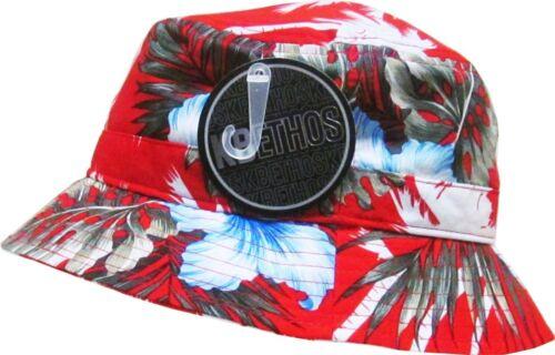 Bucket Hat Boonie Flower Hunting Summer Fishing Outdoor Cap Unisex 100/% Cotton