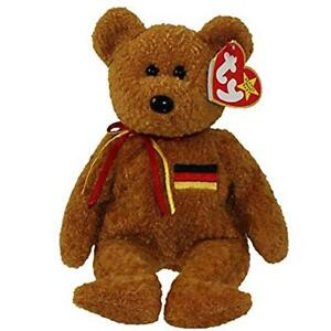 Germania the German Bear Ty Beanie Baby MWMT Retired Collectible