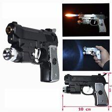 Electric Shock Led Pistol Lighter Pistol Gun Refillable