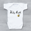 Personalised Baby/'s Last Name Surname Bumble Bee Unisex Baby Grow Bodysuit