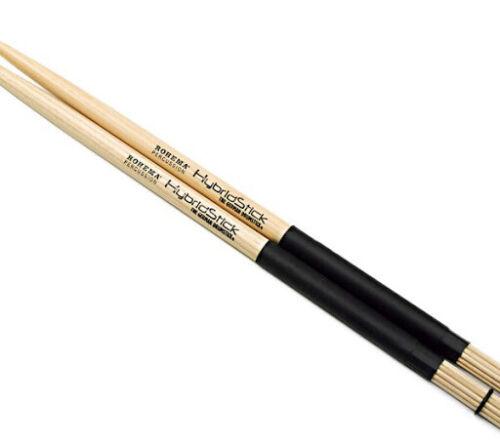 ROHEMA Hybrid Sticks 61309 Kombination Drumsticks und Rods  5A
