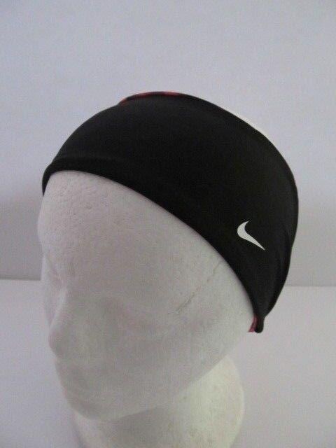 176a69e396d Nike Dri-fit Reversible Headband Color Prism Pink black white Size OSFM